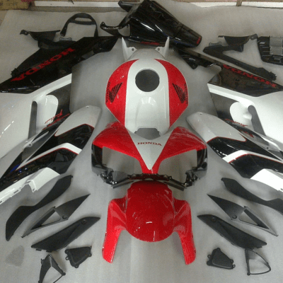 2004-05 cbr1000RR Red Black White Gloss