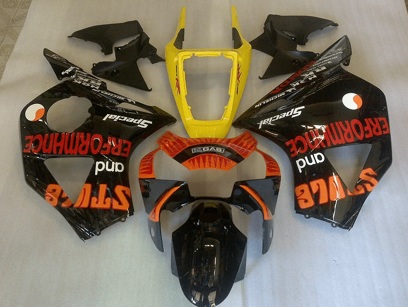 2002 - 2003 CBR954 Black Orange Red Gloss