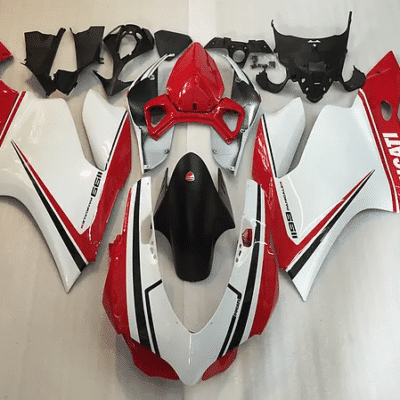 Ducati 1199 1299 899 Racy Tri color Red White Green