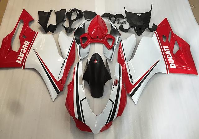 Ducati 1199 1299 899 Racy Tri color Red White Green