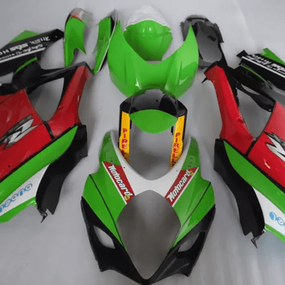 2007-08 gsxr1000 Racy Green Black Red