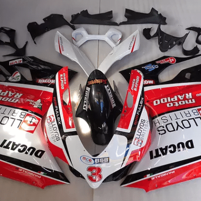 Ducati 1199 1299 899 Red White Black Stickers Packs Racy