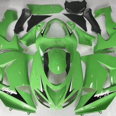 2006 - 2007 Kawasaki ZX10R Green