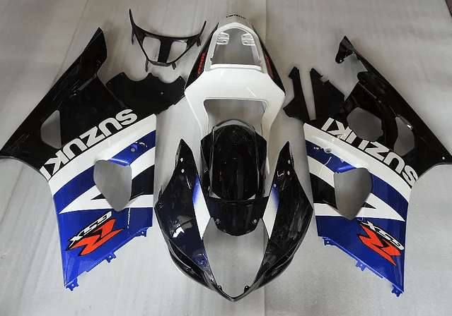 03-04 k3 GSXR1000 Black Whit Blue Gloss