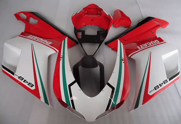 848 Ducati Red White Tri Color
