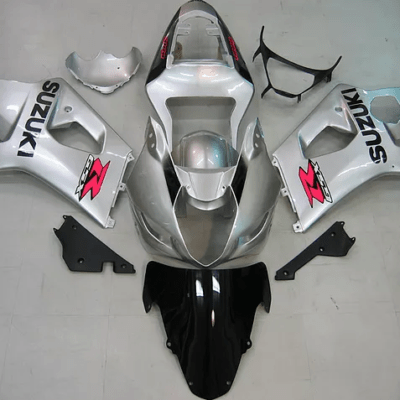 03-04 k3 GSXR1000 Silver White Black