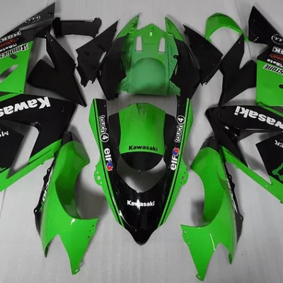 2008 - 2010 zx10r Green Black