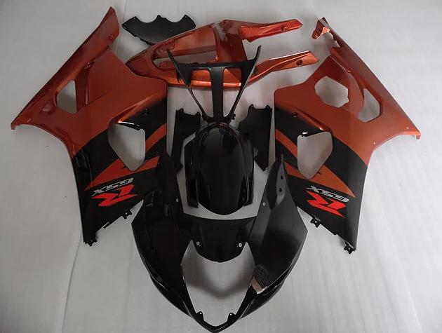 2000-02 K1 GSXR1000 Black Dark Orange Brown