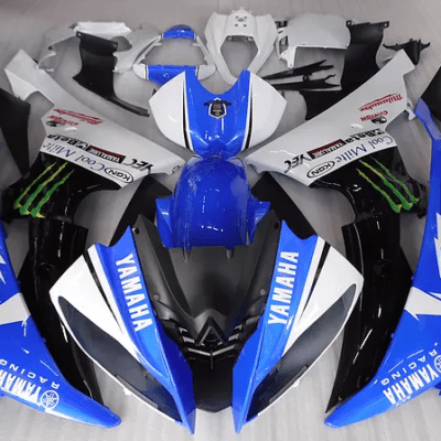 2008 - 2016 Yamaha R6 Blue Monster Drink