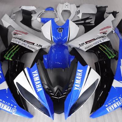 2008 - 2016 Yamaha R6 Blue Monster Drink