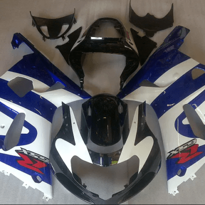 2000-02 K1 GSXR1000 Dark Blue White
