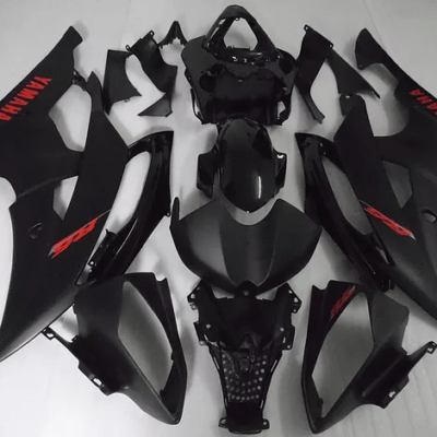 2008 - 2016 Yamaha R6 Matt Black