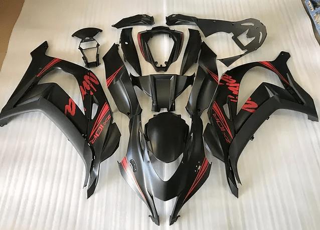 2016 - 2017 Kawasaki zx10r matt grey red