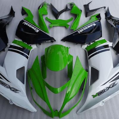 2013-2016 KAWASAKI ZX-6R Green White