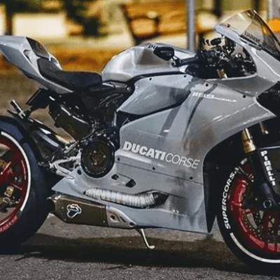 Ducati 1199 grey