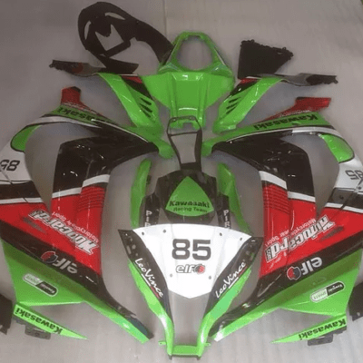 2011 - 2015 ZX10R Green Black Red White