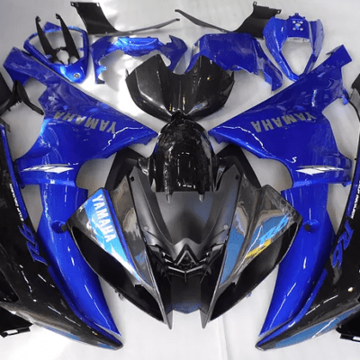 2008 - 2016 Yamaha R6 Silver Blue and Black