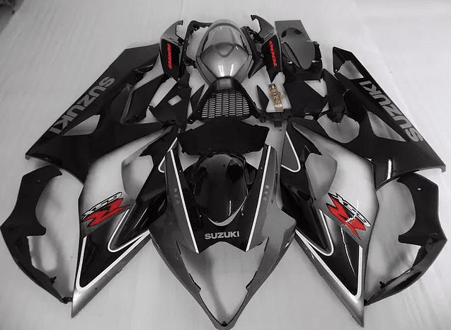 2005-06 K5 gsxr1000 Black Silver