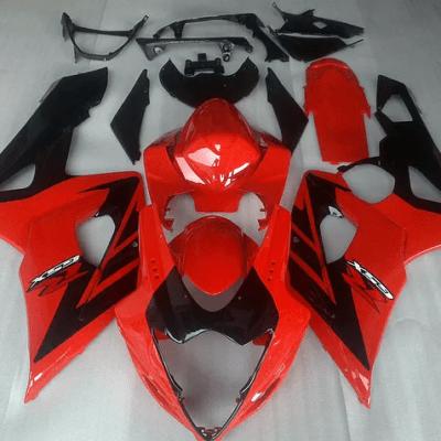 2005-06 K5 gsxr1000 Red Black