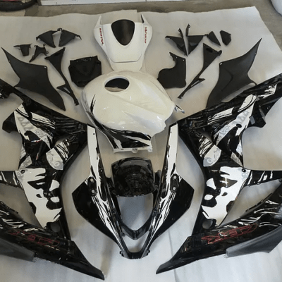 2007 - 2008 CBR600RR Black and White Graffiti