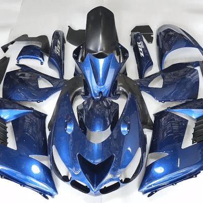 2007 kawasaki ZX-14r Blue