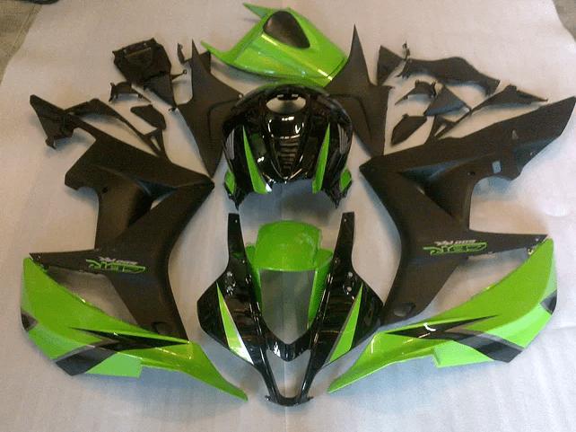2007 - 2008 CBR600RR Green and Matt Black