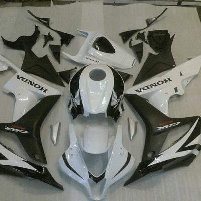 2007 - 2008 CBR600RR White and Matt black
