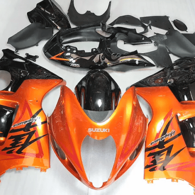 97-07 GSXR1300 97-07 Orange Black Bright Gloss