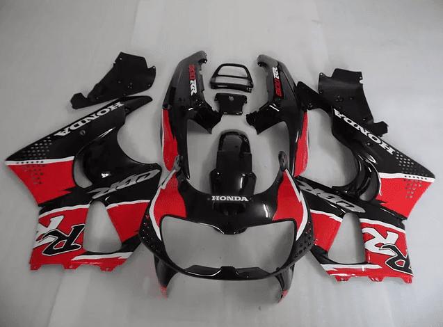 CBR 919 Black Red and White
