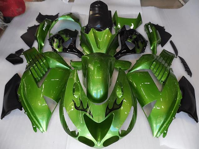 2007 kawasaki ZX-14r Dark Green