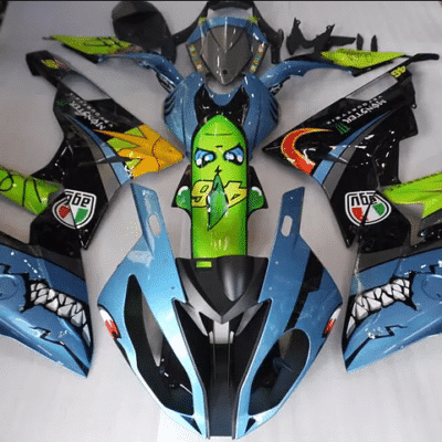 2012 - 2014 BMW S1000RR AGV Shark Blue