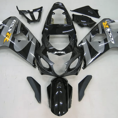 2004-05 GSXR600 750 Dark Black Silver