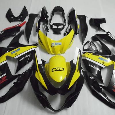 2009-2015 GSXR1000 Black Bright Yellow