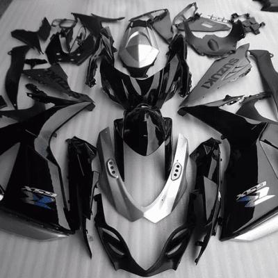 2009-2015 GSXR1000 Silver Black