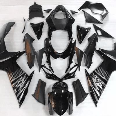 2011-2014 k11 GSXR600 750 Black Silver