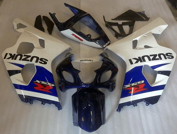2004-05 GSXR600 750 Dark Blue White