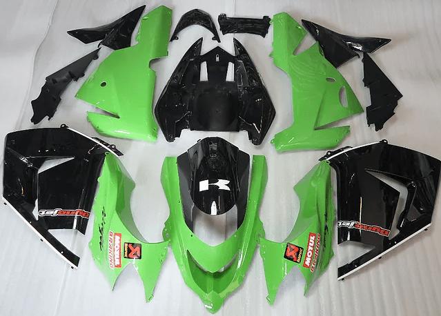 2004 - 2005 Kawasaki ZX10R Green Black