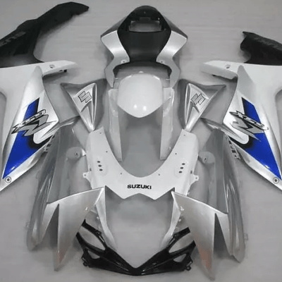 2011-2014 k11 GSXR600 750 Silver White Blue