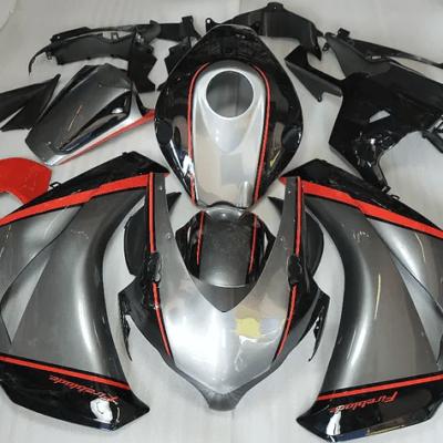 2008-2011 CBR1000rr Silver Black Orange