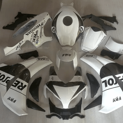 2008-2011 CBR1000rr White Black Repsol