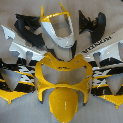 CBR1000 929 Yellow White Black Gloss
