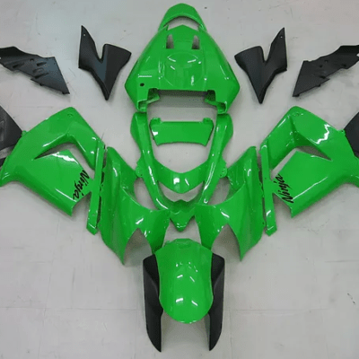 2004 - 2005 Kawasaki ZX10R Green Black GLoss