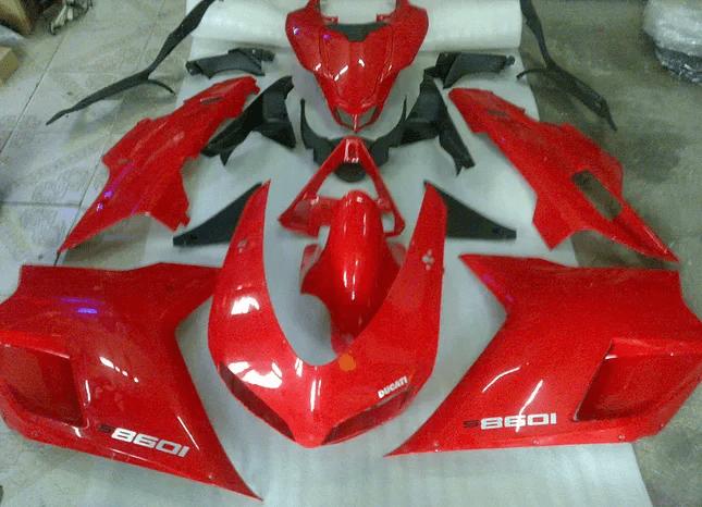 1098 1198 Ducati Red Black Gloss
