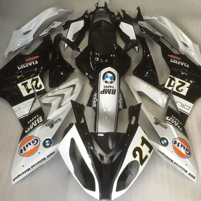 2012 - 2014 BMW S1000RR White Black Gloss