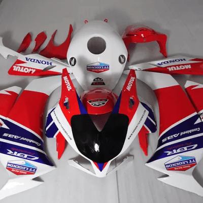 2012-2015 CBR1000RR HRC Tri Color White Red Blue