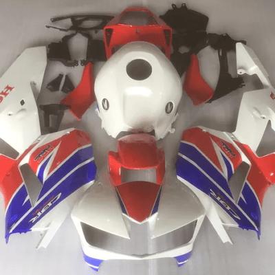 2013 - 2015 CBR600RR Honda Trip Color Red Blue White