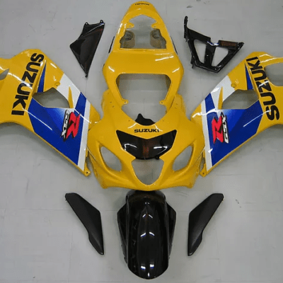 2004-05 GSXR600 750 Yellow Bright Blue