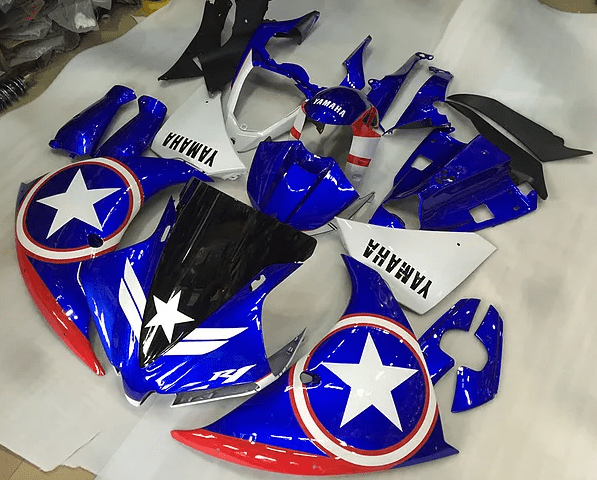 2009 - 2014 Yamaha R1 Captain America