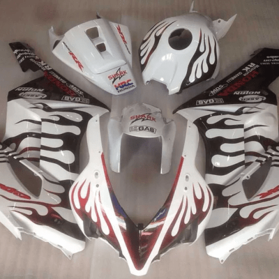 2004-05 cbr1000RR Black Flame White