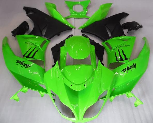 2009-12 kawasaki ZX-6r Green Gloss